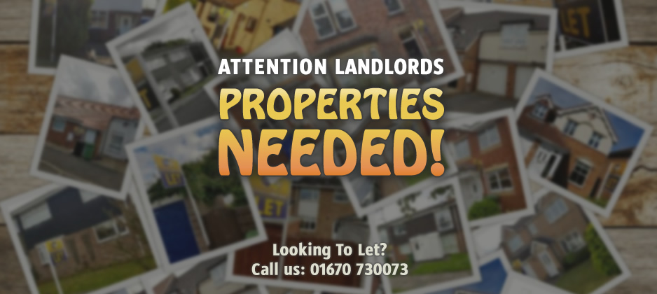 Landlords! ...Properties Needed